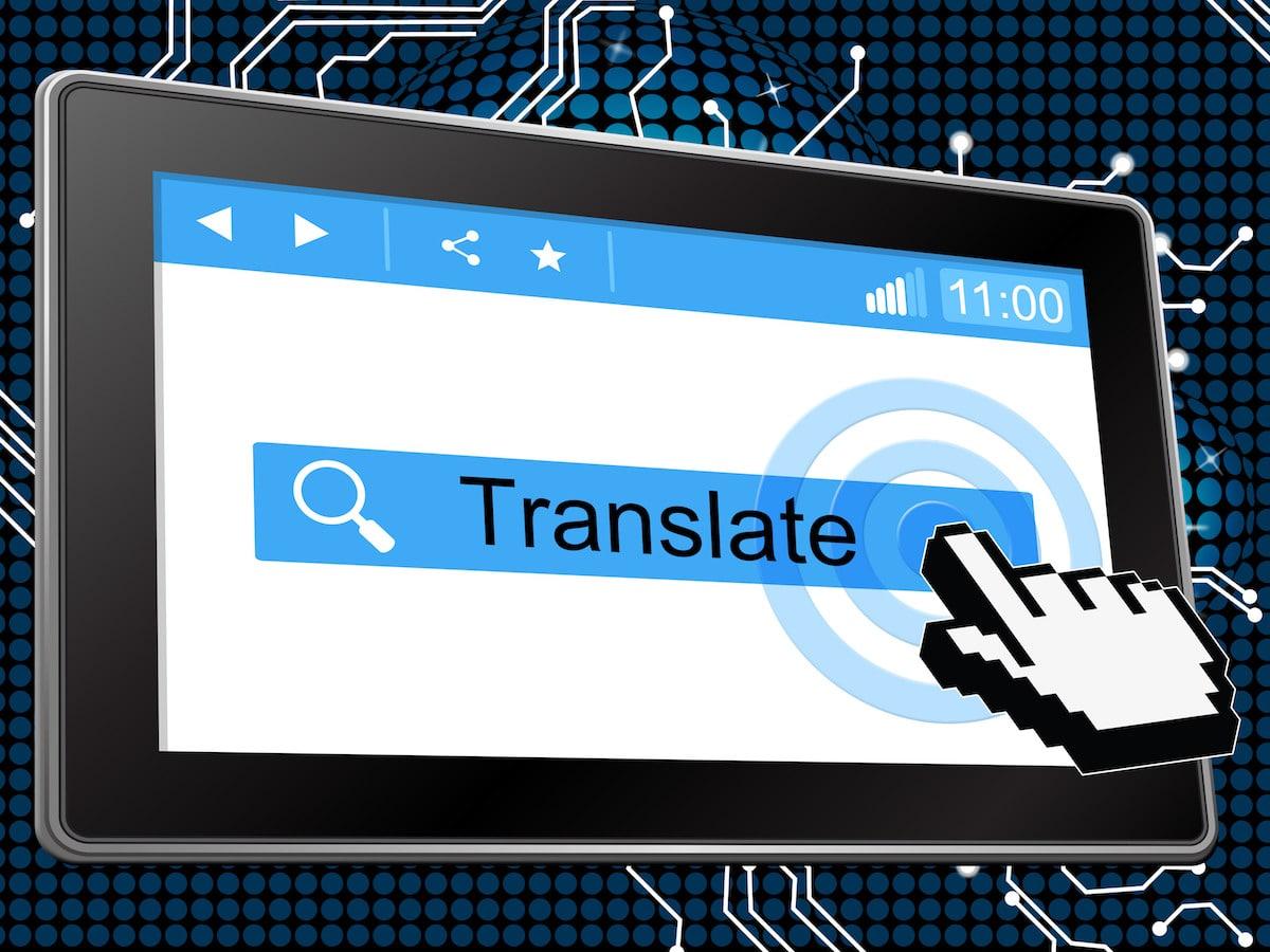 Faire traduire un site par un logiciel