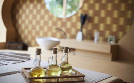Huiles de massage relaxant