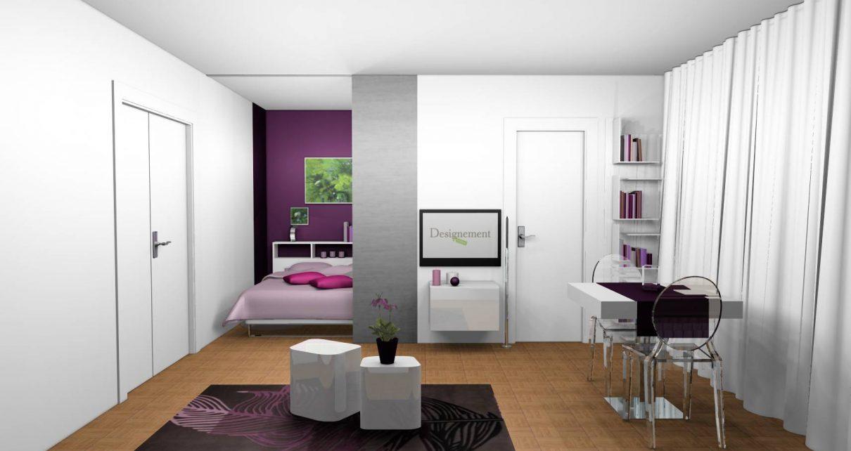 la d coration d int rieur de votre studio. Black Bedroom Furniture Sets. Home Design Ideas